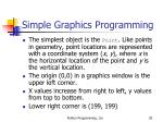 simple graphics programming7