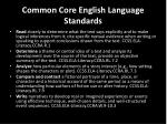 common core english language standards