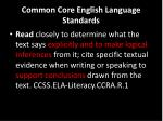 common core english language standards1
