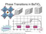 phase transitions in batio 3