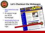 let s checkout the webpages
