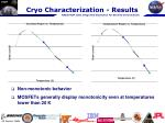 cryo characterization results3