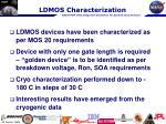 ldmos characterization