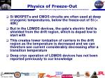 physics of freeze out1