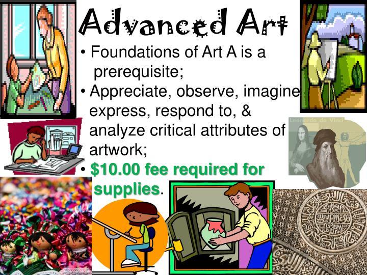 Advanced Art