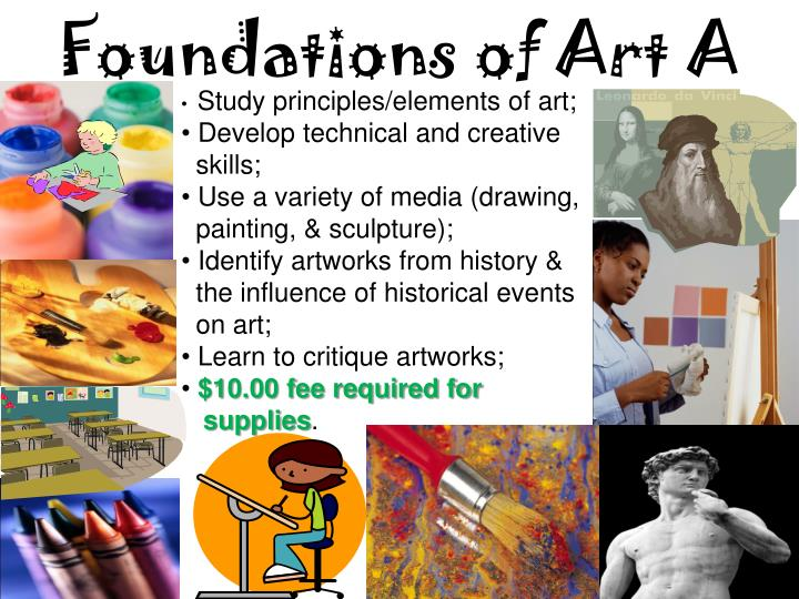 Foundations of Art A