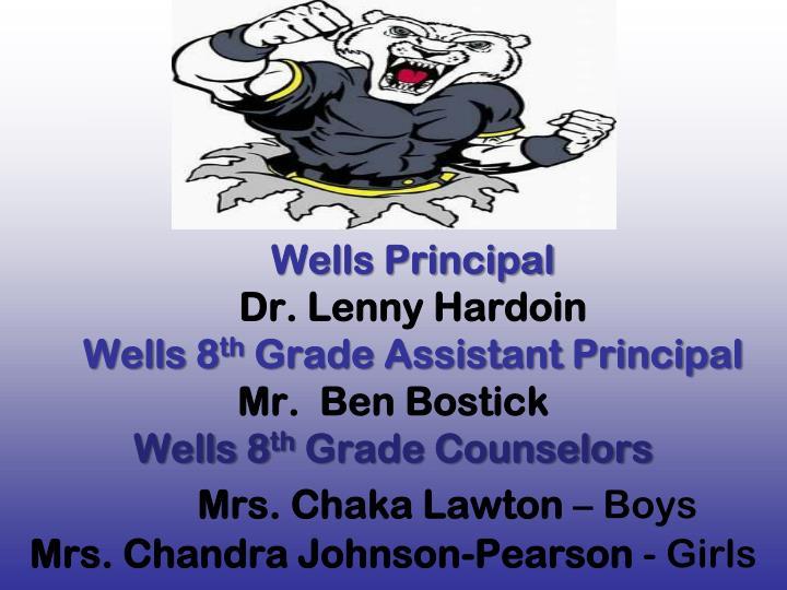Wells Principal