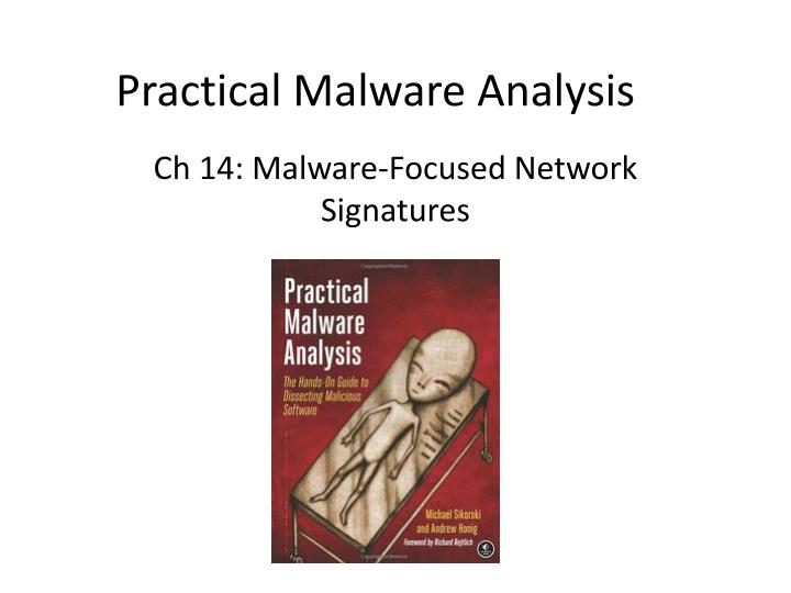 practical malware analysis n.