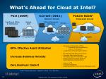 what s ahead for cloud at intel