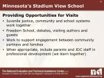minnesota s stadium view school7