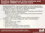 positive behavioral interventions and support pbis in secure care