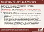 transition reentry and aftercare1