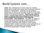 world systems cont
