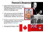 pearson s response