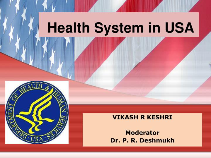 health system in usa n.
