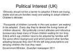political interest uk