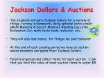 jackson dollars auctions