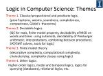logic in computer science themes