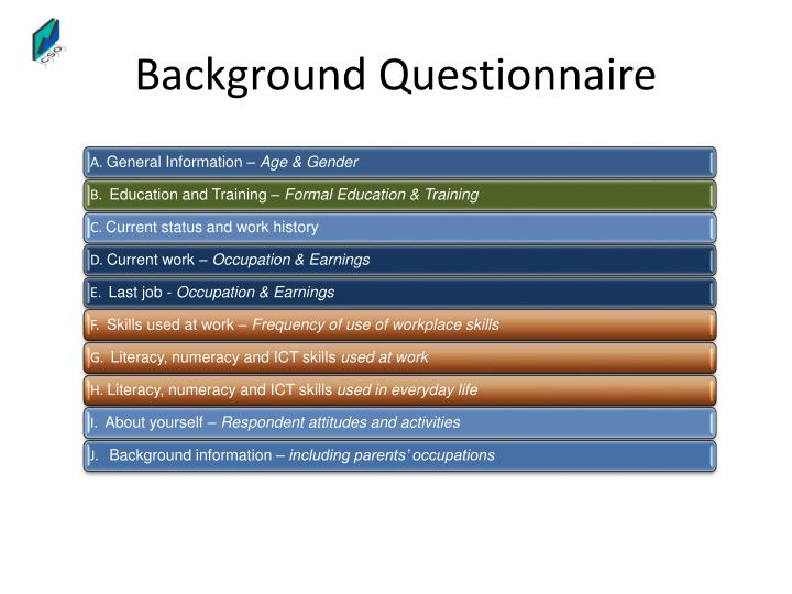 Background Questionnaire