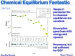 chemical equilibrium fantastic