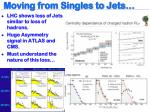 moving from singles to jets