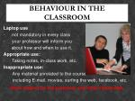 behaviour in the classroom1