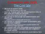 competition with ussr the cold war