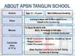 about apsn tanglin school