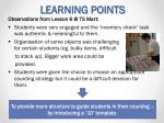 learning points2