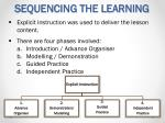 sequencing the learning3