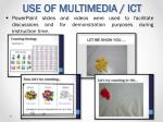use of multimedia ict1