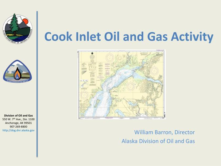 cook inlet oil and gas activity n.