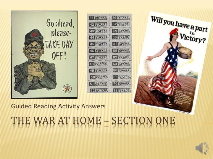 guided reading activity answers n.