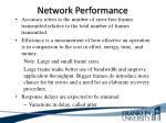 network performance12