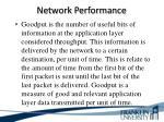 network performance5