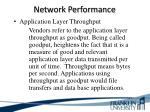 network performance6
