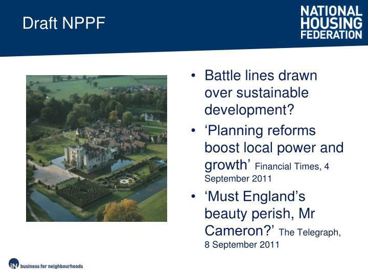 Draft NPPF