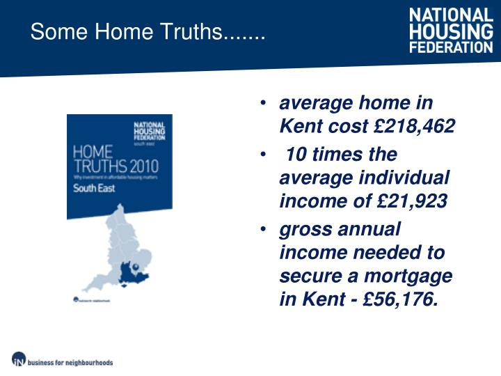 Some Home Truths.......