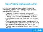 home visiting implementation plan