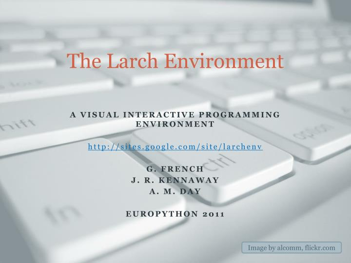 the larch environment n.