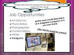 job opportunities