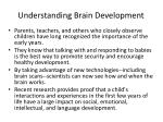 understanding brain development