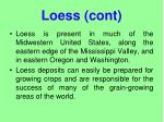 loess cont