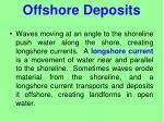 offshore deposits