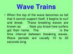wave trains1