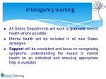 interagency working