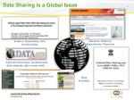 data sharing is a global issue