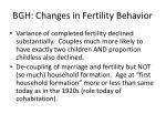 bgh changes in fertility behavior