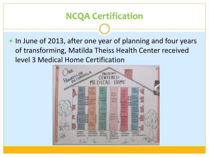 Ncqa Certification Gallery - certificate design template free
