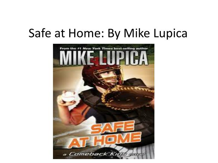 safe at home by mike lupica n.